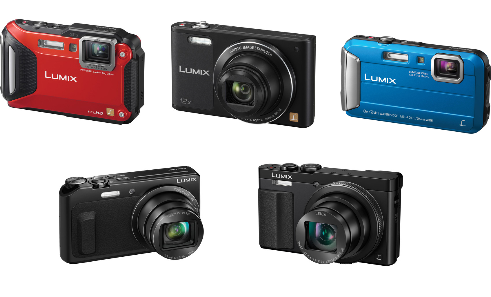 New panasonic lumix compact cameras announced at ces for New camera 2015