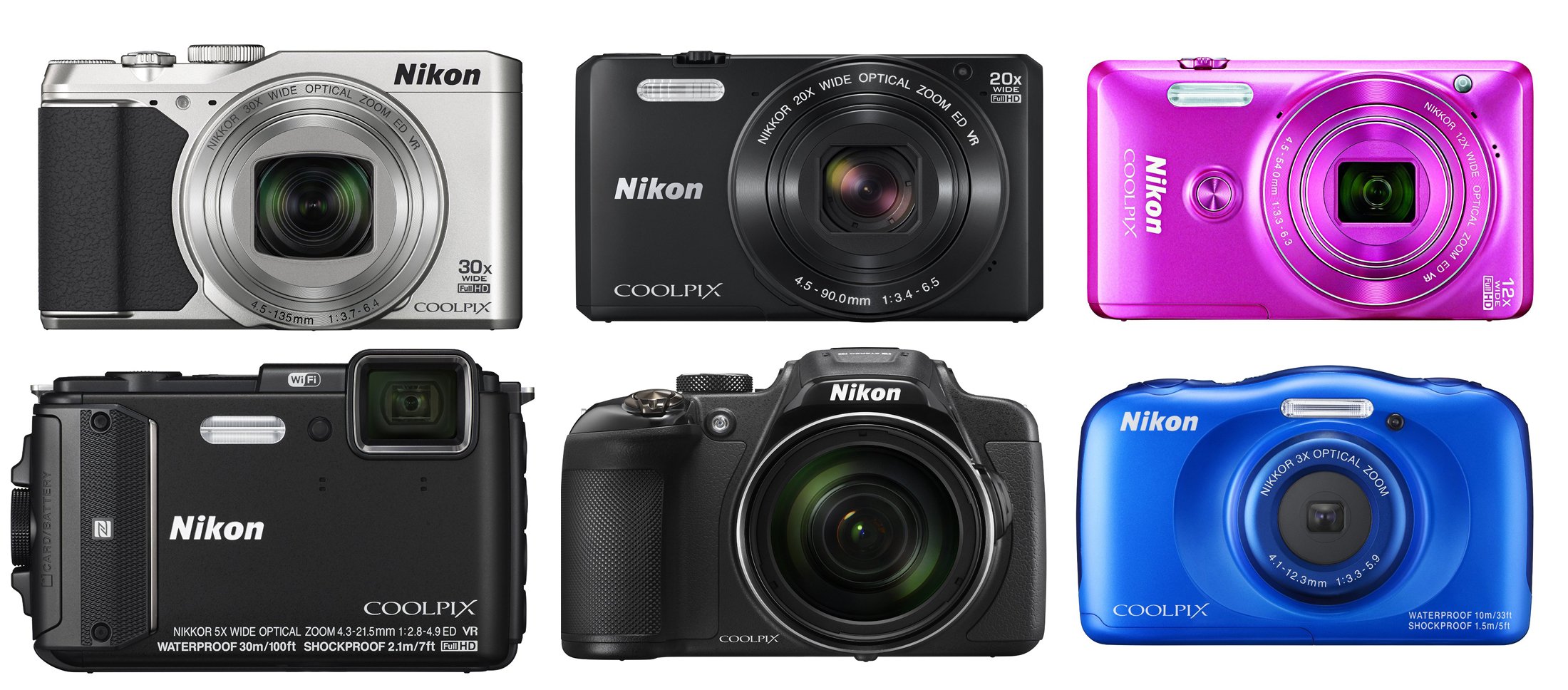 new-nikon-coolpix-cameras-announced-in-Feb-10