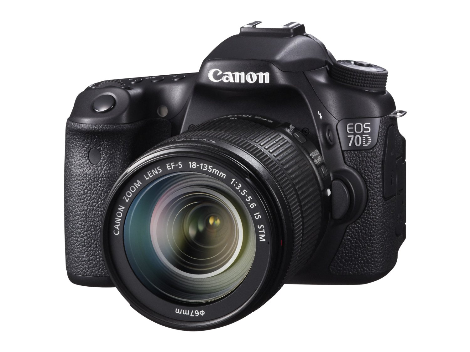 Canon EOS 70D Digital SLR Camera w18-135mm Lens
