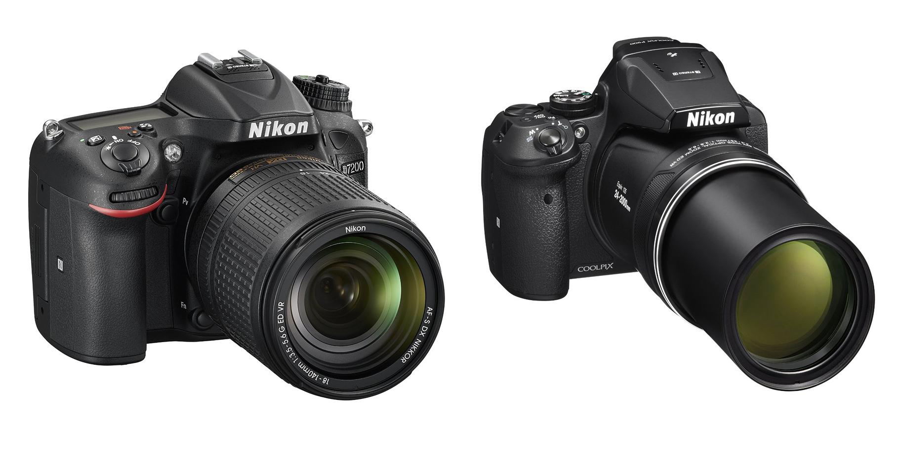 Nikon-D7200-and-P900