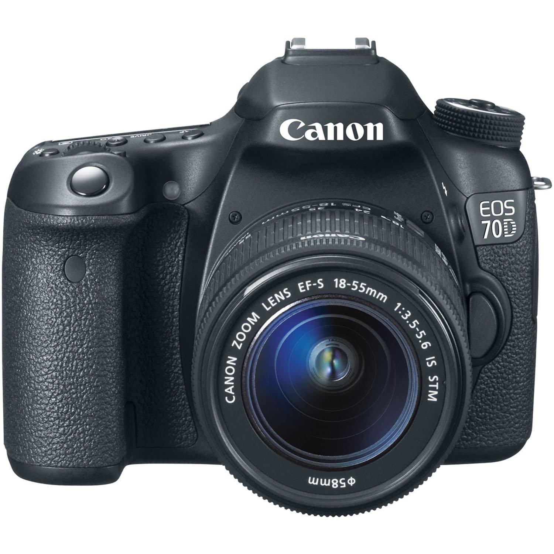 Canon EOS 70D w18-55mm lens