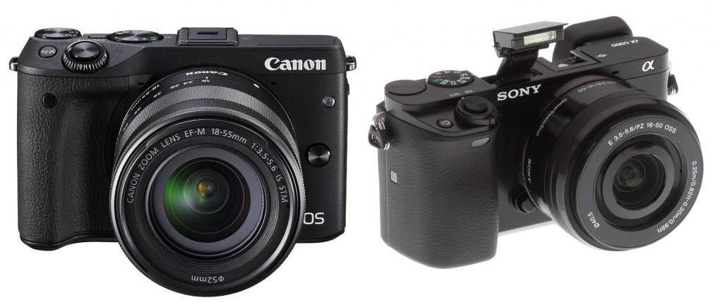 Canon-EOS-M3-Vs-Sony-A6000