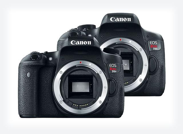 Canon EOS Rebel T6i & T6s