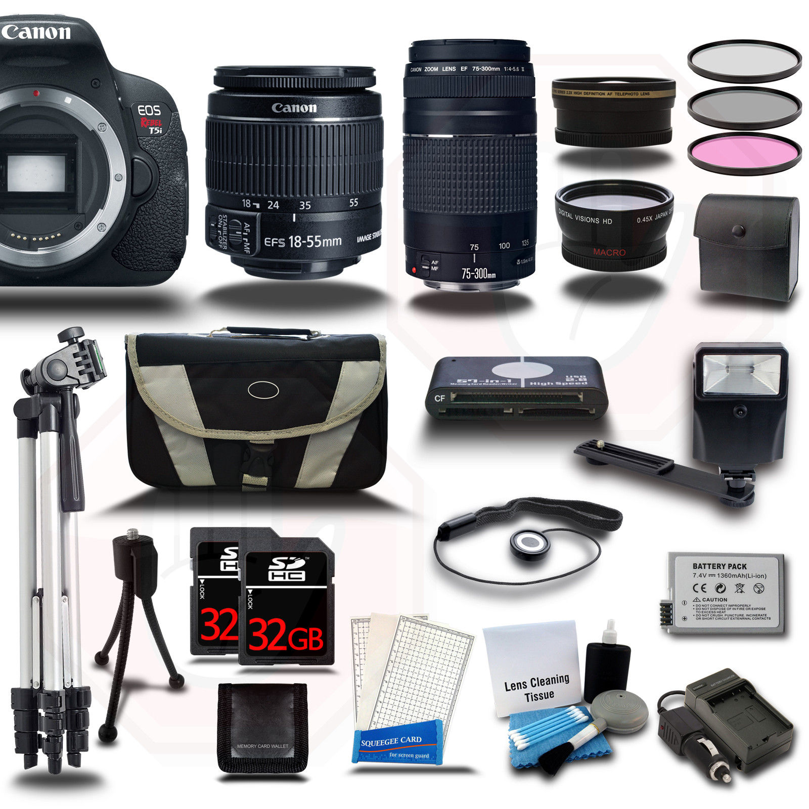 Canon EOS T5i kit deals