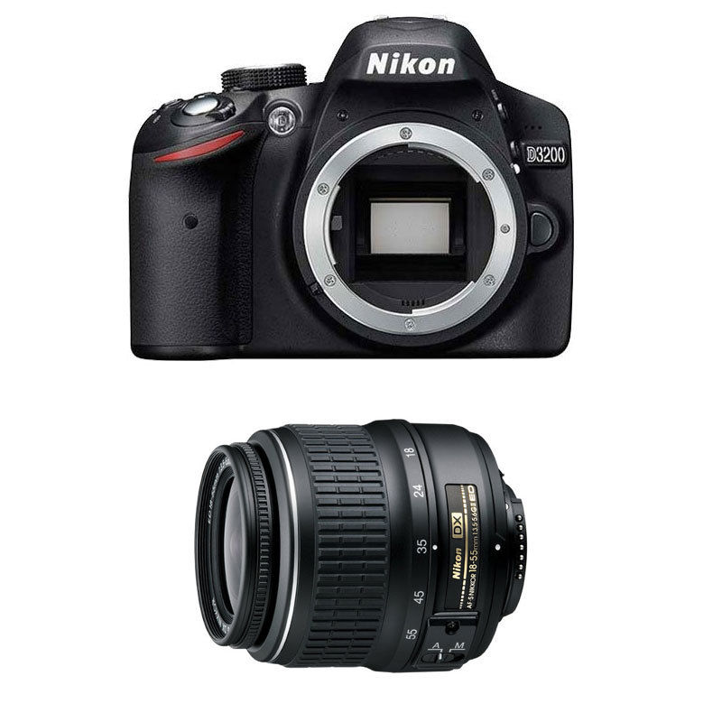 Nikon d3200 deals with 18-55mm lens