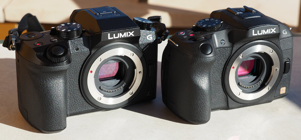 Panasonic Lumix G7 Vs. G6 Comparison from ePhotozine ...
