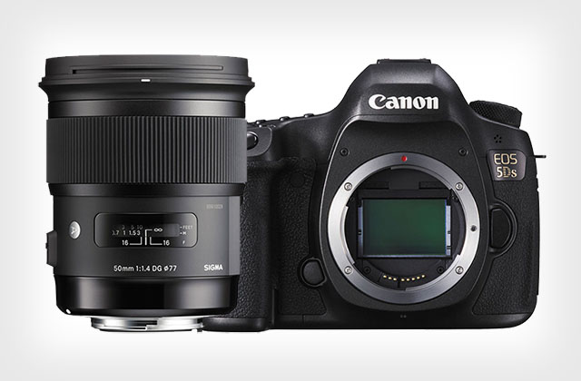 canon EOS 5Ds and sigma 50mm f1.4 art lens