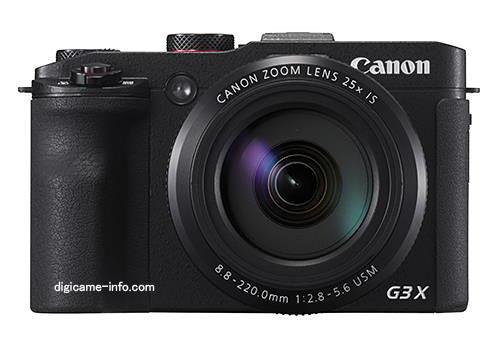 Canon PowerShot G3 X images