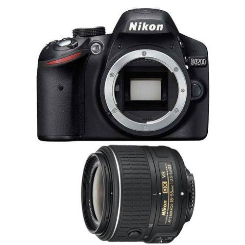 Nikon D3200 w18-55mm VR II lens