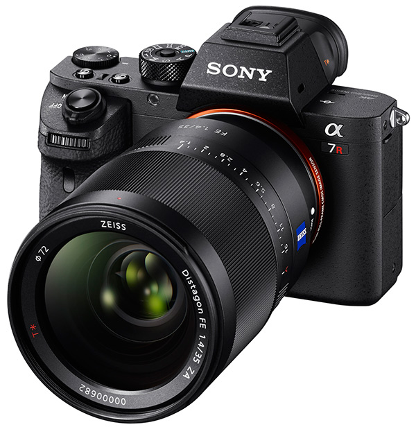 Sony A7R II announcement slide1