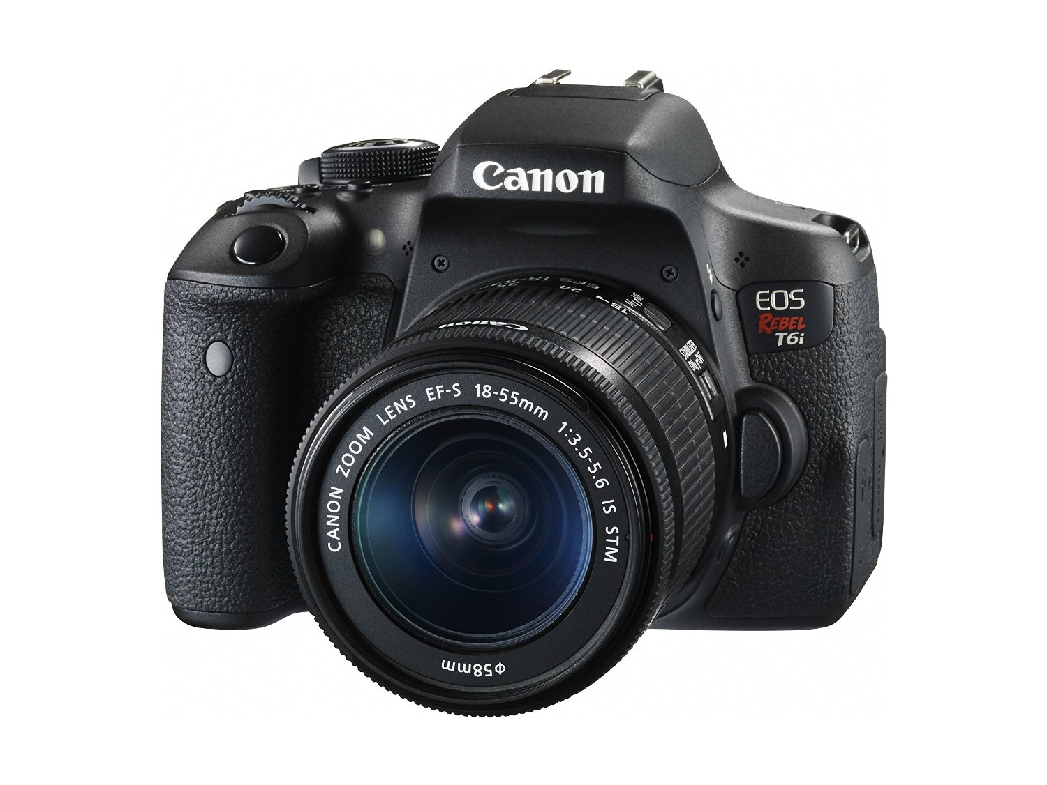 Canon EOS T6i with 18-55mm lens