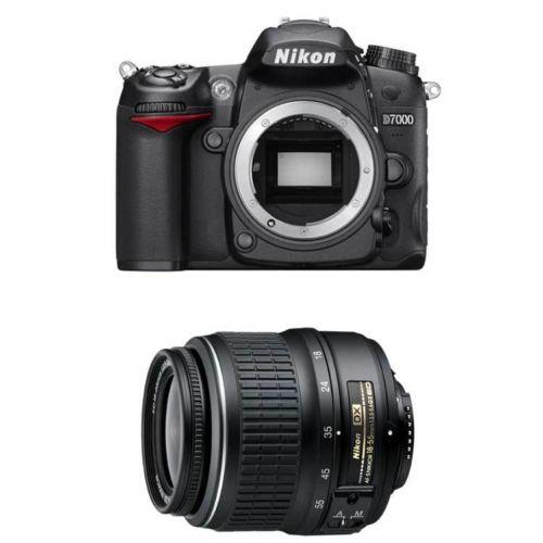 Nikon D7000 w 18-55 II DX lens