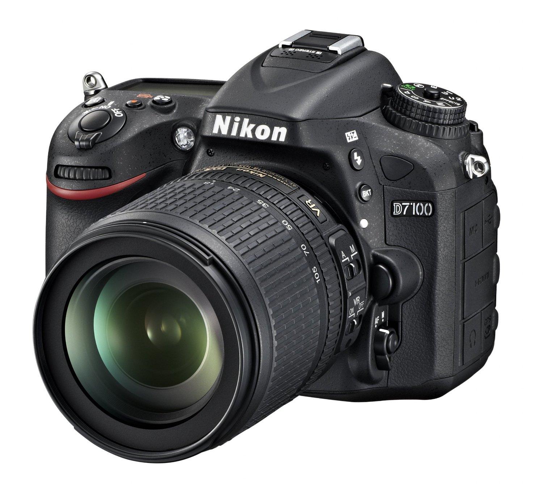 Nikon D7100 w 18-105mm lens deal