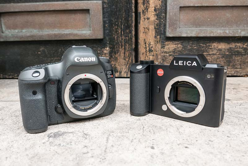 Canon EOS 5Ds R vs Leica SL comparison 1