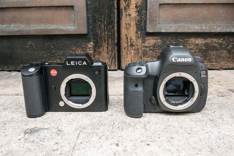 Canon EOS 5Ds R vs Leica SL comparison 2