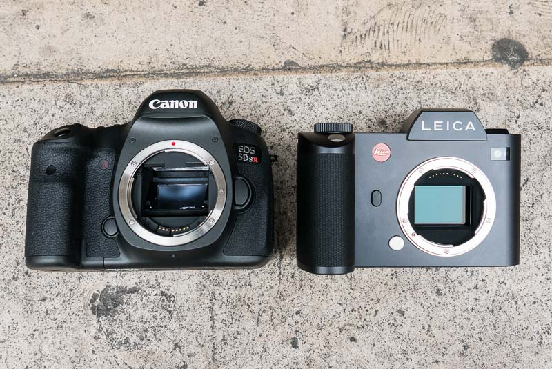 Canon EOS 5Ds R vs Leica SL comparison 3