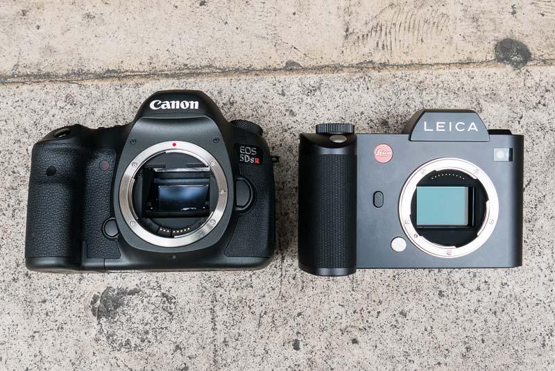 Canon EOS 5Ds R vs Leica SL comparison 3