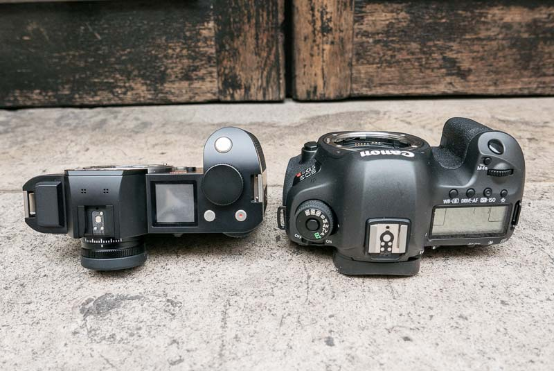 Canon EOS 5Ds R vs Leica SL comparison 5