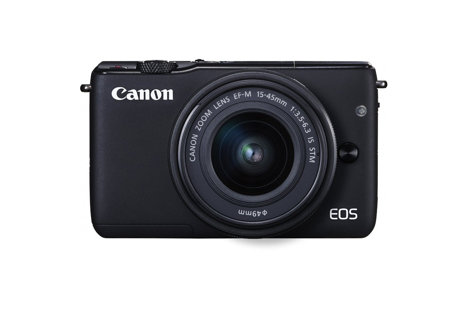 Canon EOS M10 with lens kit