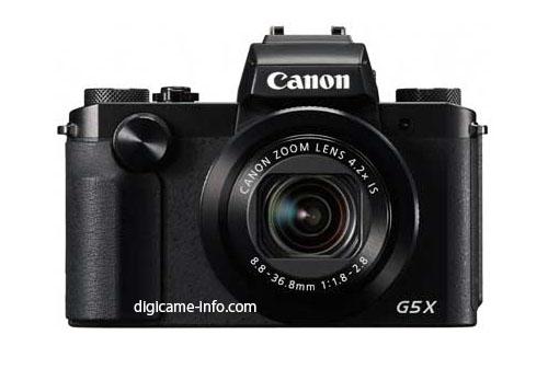 Canon Powershot G5X image