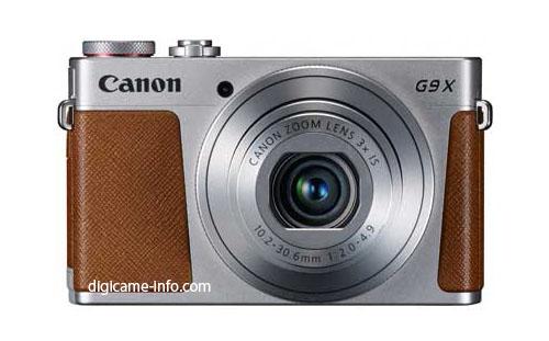 Canon Powershot G9X image