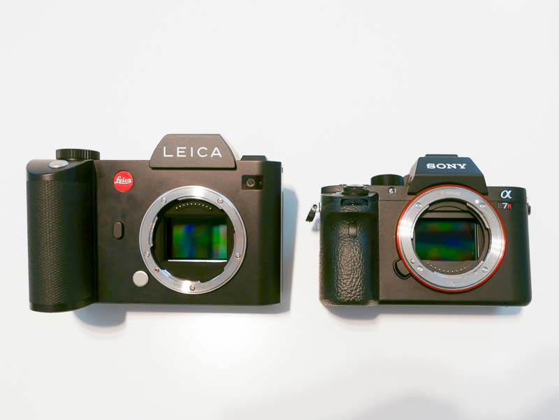 Leica SL vs Sony a7R II images