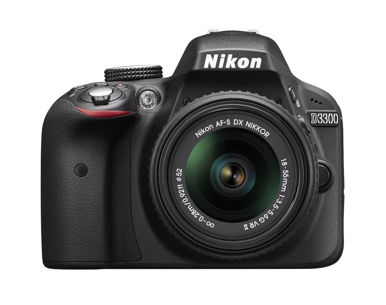 Nikon D3300 with 18-55mm DX VR II lens