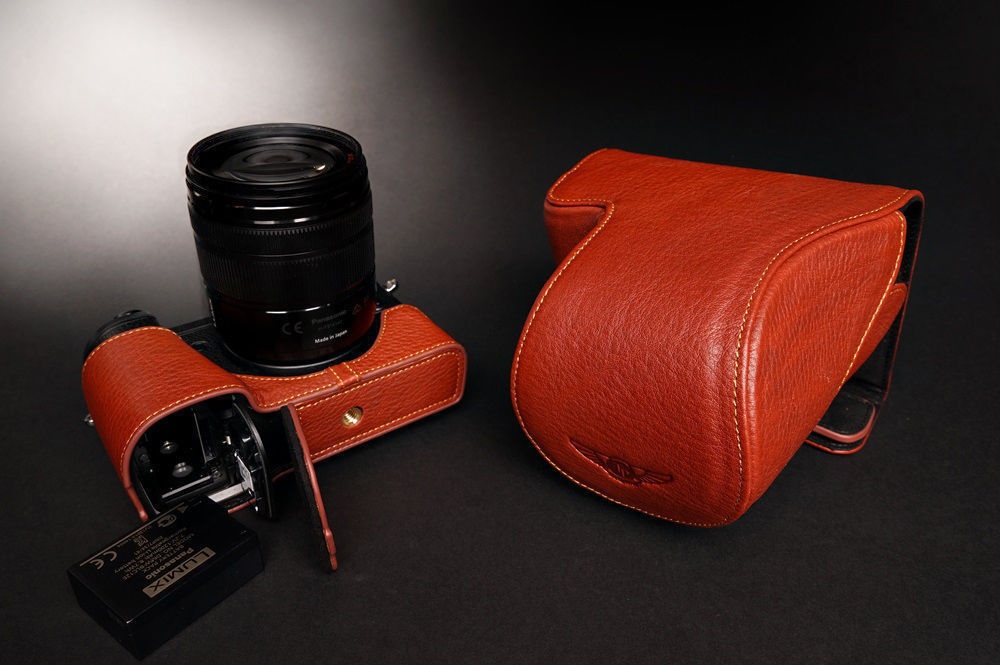panasonic GX8 leather case2