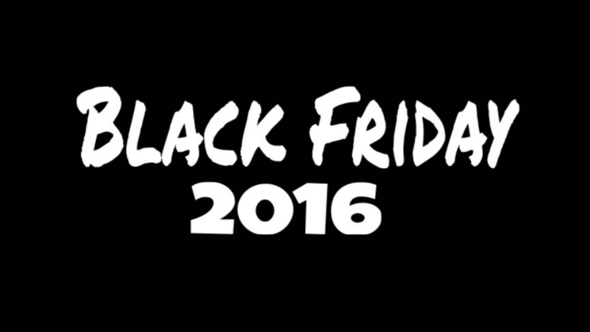2016 black friday