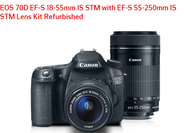 Canon eos 70D deals