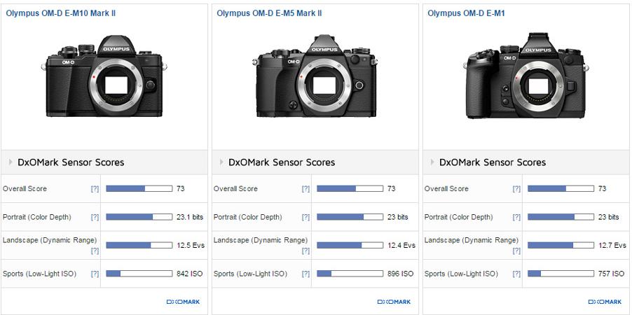 Olympus E-M10 II review3 DxOMark