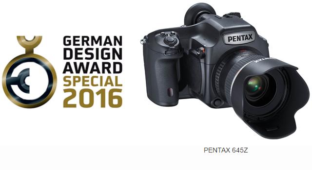 Pentax 645Z award