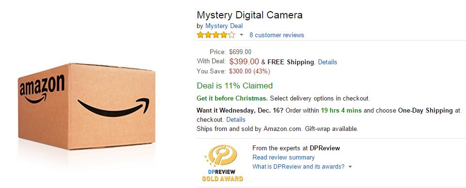 Amazon Mystery Deal