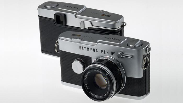 Olympus Pen F camera