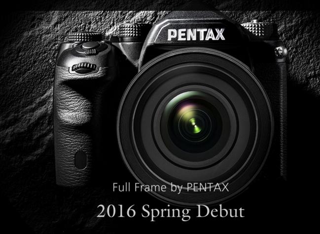 Pentax full frame DSLR