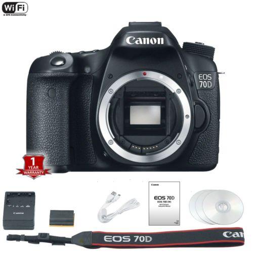 Canon EOS 70d deal