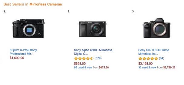 Fujifilm X-Pro2 best seller