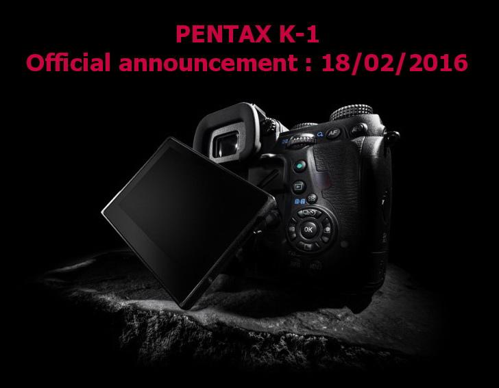 Pentax K-1 annoucement date