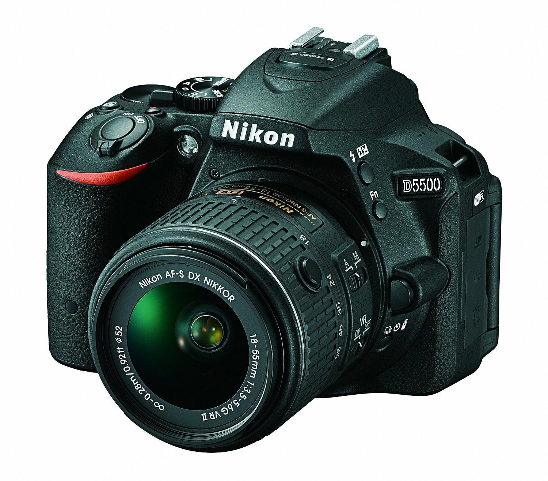 Nikon D5500 w 18-55mm lens kit