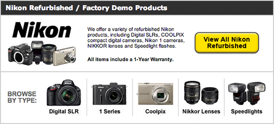 Nikon-refurbished-camera-deal
