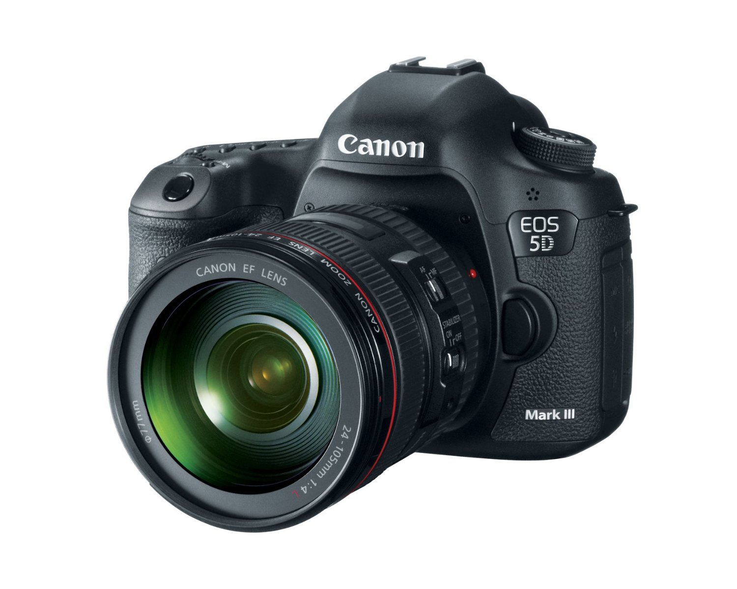 Canon EOS 5D Mark III w 24-105mm lens kit
