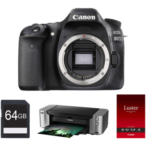 Canon EOS 80D bundle deal