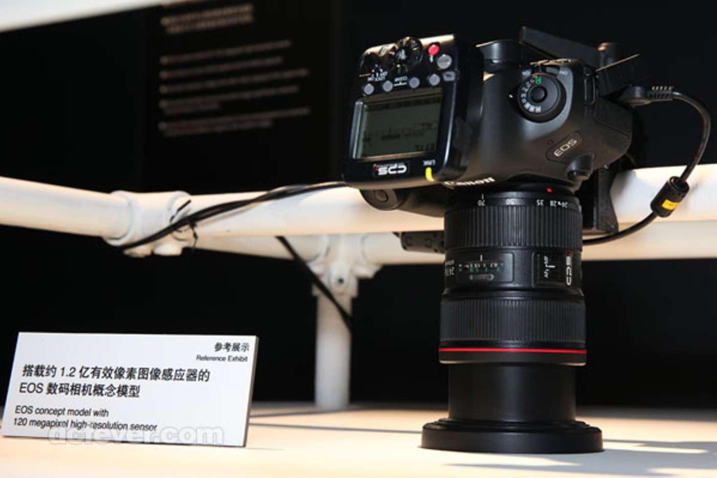 Canon 120 MP camera