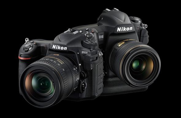 Nikon D5 and D500