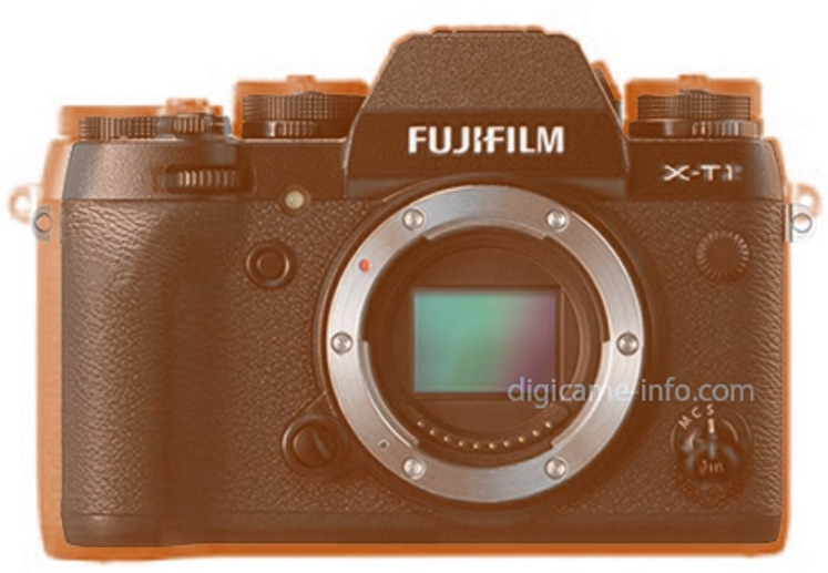 Fujifilm X-T2 Vs X-T1 size comparison