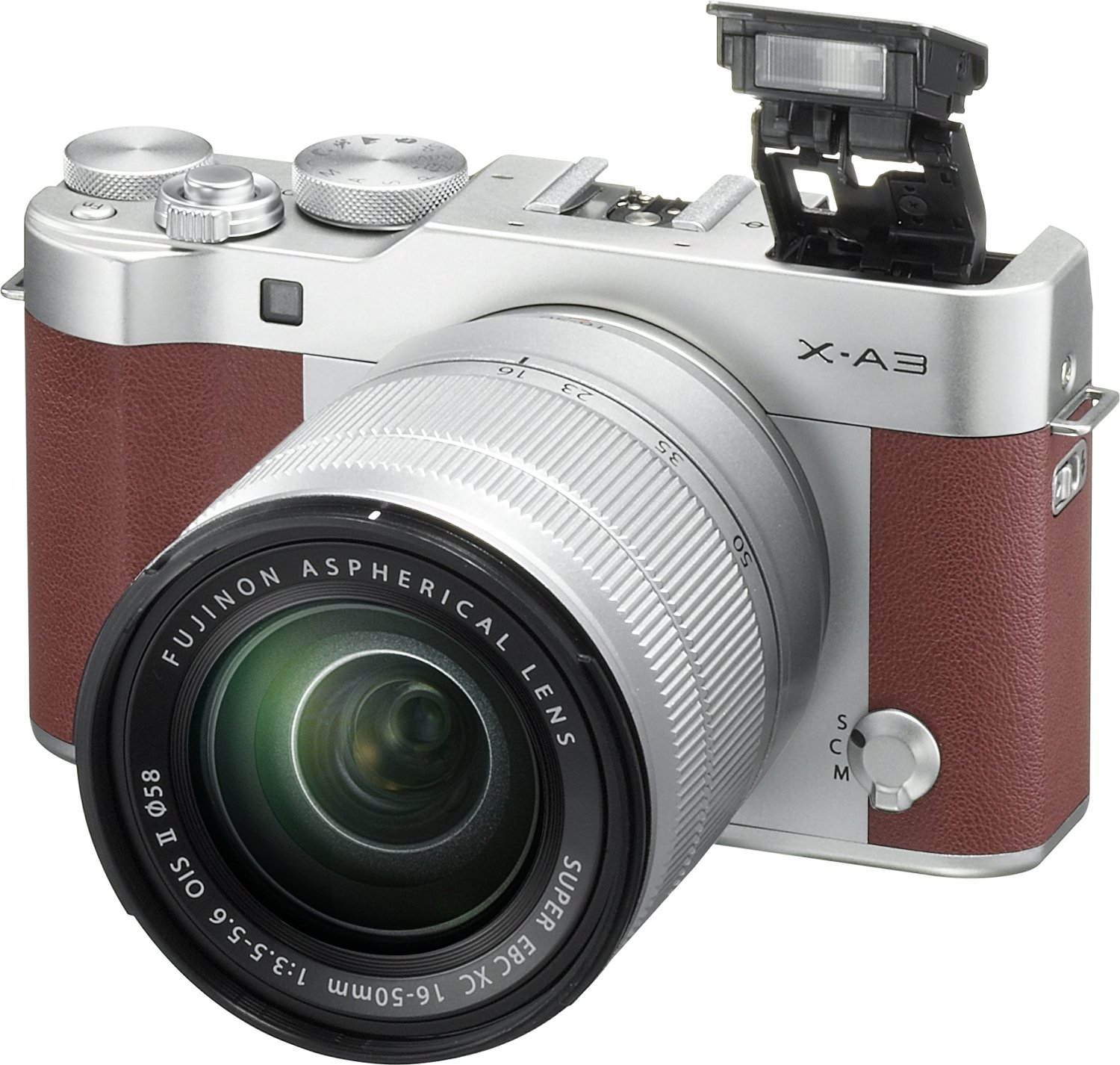 Fujifilm X-A3 with XC 16-50mm lens kit