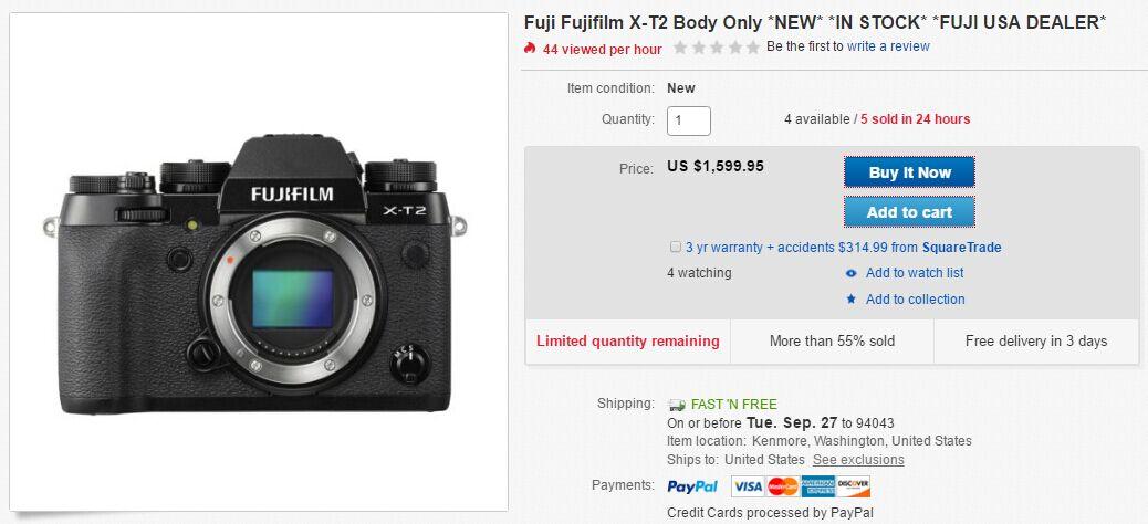 fujifilm-x-t2-in-stock