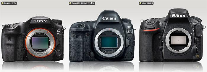 sony-a99-ii-vs-canon-5d-mark-iv-vs-nikon-d810-size-comparison