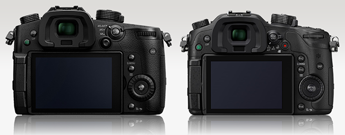 GH5 vs GH4 size comparison 3