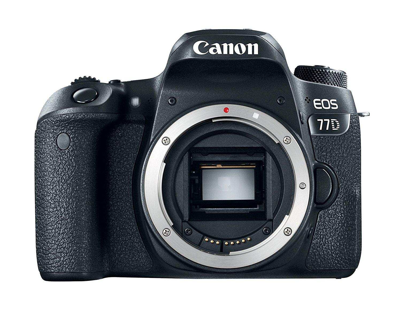 Canon EOS 77D images